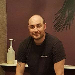 Daniel Clarke massage therapist
