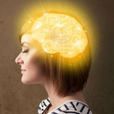 Hypnotherapy on a woman's mind