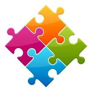 pieces fit together like a jigsaw